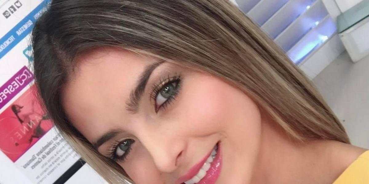 Cristina Hurtado sorprendió en redes vestida de novia y con sensual lencería
