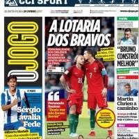 La prensa lusa lloró la eliminación a manos de Bravo