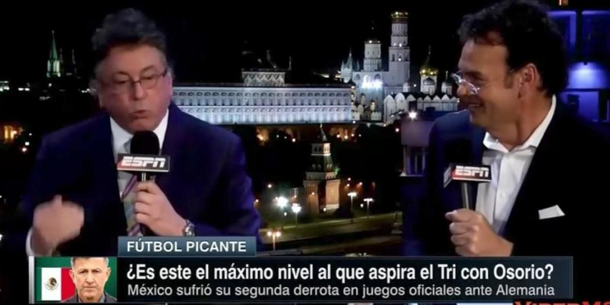 """¡Se calientan! """"Osorio no conoce al mexicano y tú (Faitelson) no entiendes ni un carajo"""": Jorge Ramos"""