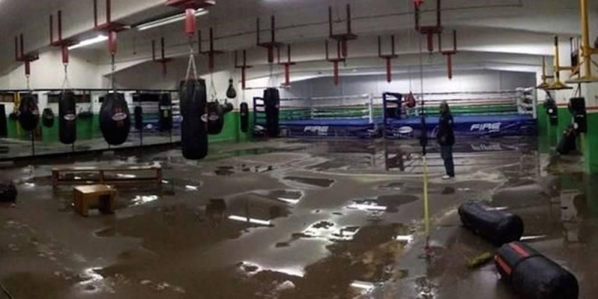 Intensas lluvias afectaron instalaciones del CDOM