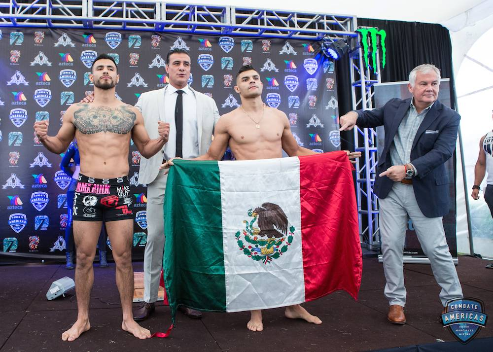 UFC en México está por debajo de Combate Américas: Del Río. Cortesía Combate Américas