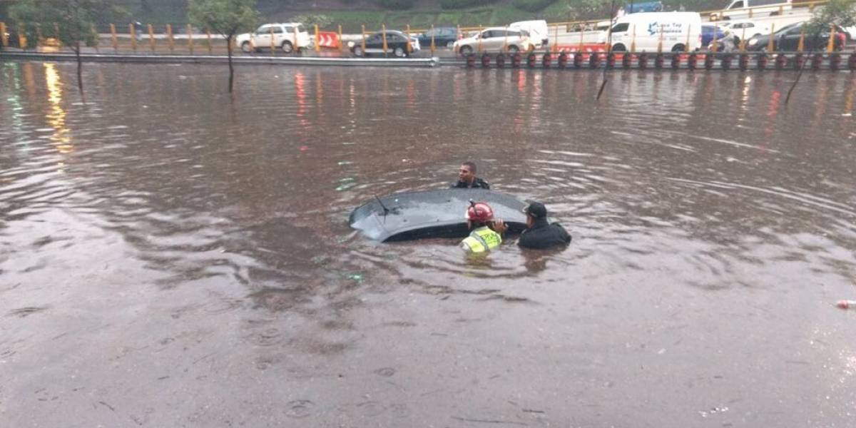 FOTOS: Así se vivieron las inundaciones de este miércoles en la CDMX
