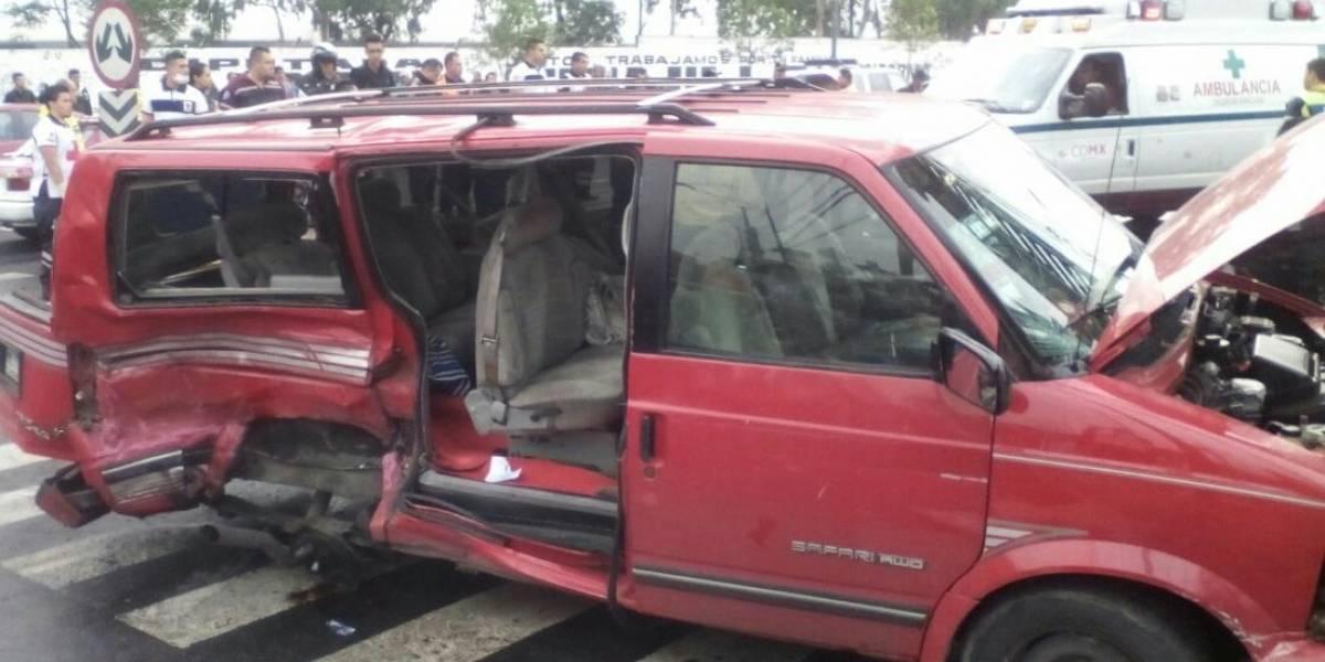 Choque escolar deja un niño muerto y al menos 5 menores heridos en Eje 6 Sur