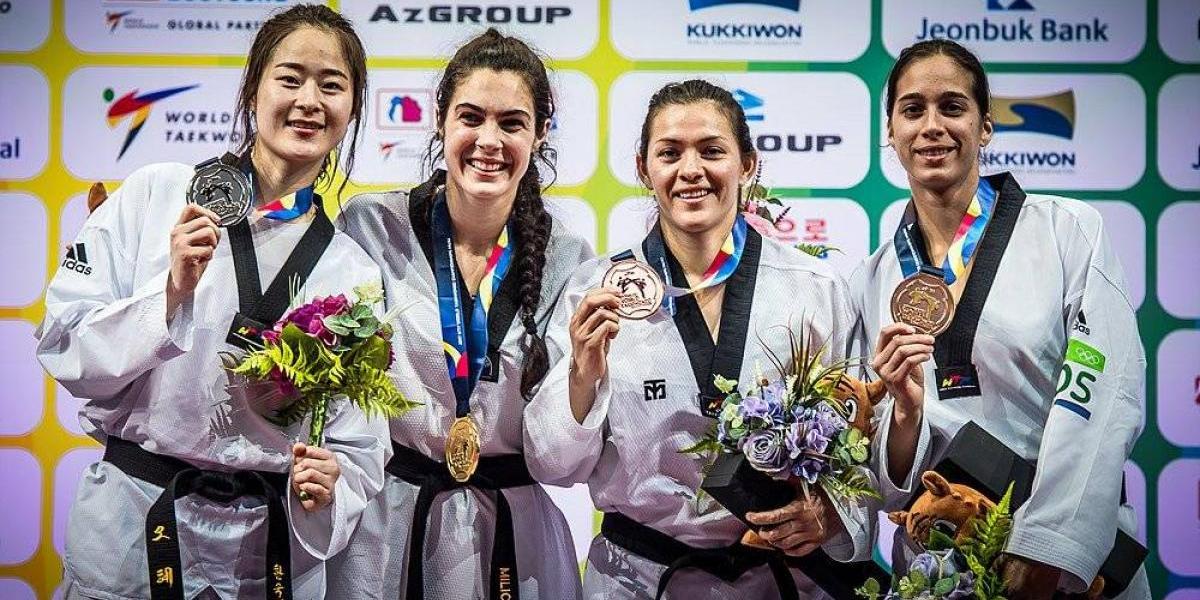María del Rosario se queda con el bronce en Mundial de Taekwondo