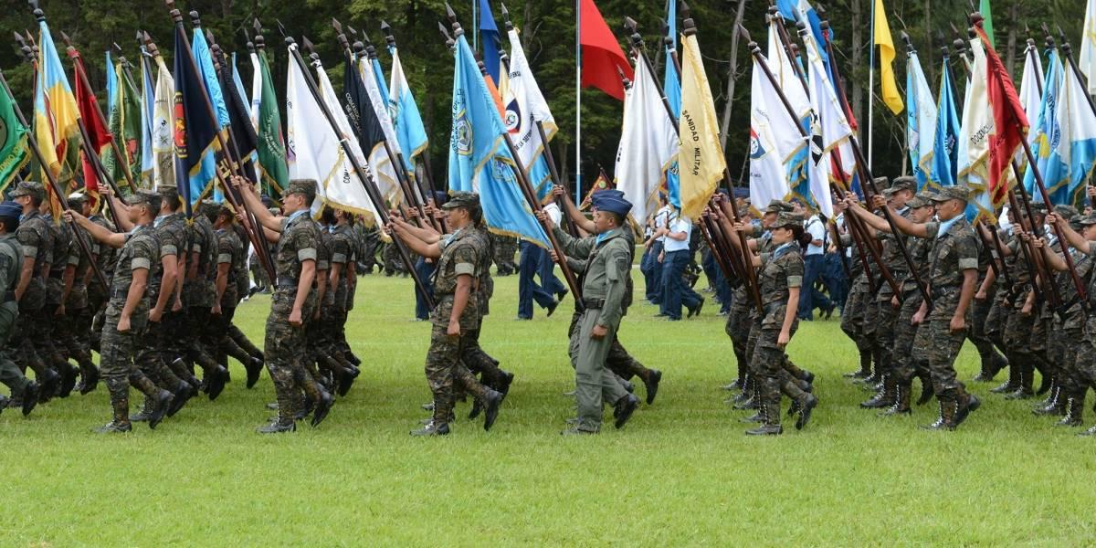 Desfile del Ejército se realizará en Zacapa y Quetzaltenango