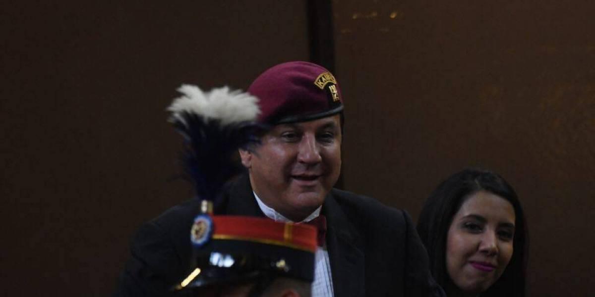 Mencionan a diputado Estuardo Galdámez en juicio de extinción a bienes de Byron Lima