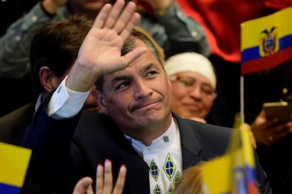 Rafael Correa habla de separación de Alianza PAIS