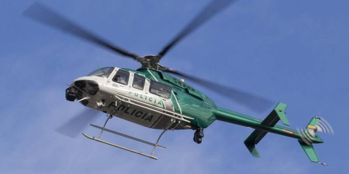 ¡Atención! Atacan helicóptero con personal de la gobernación de Santander