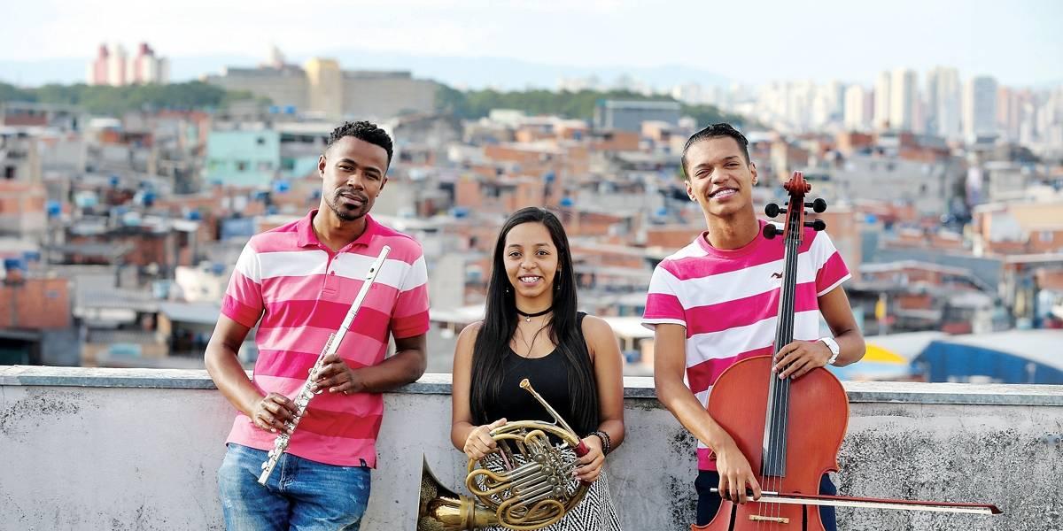 Música clássica transforma a vida de jovens moradores de Heliópolis