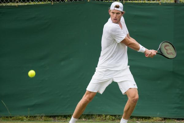 Nicolás Jarry jugará su segundo Grand Slam del año / imagen: Facebook Wimbledon