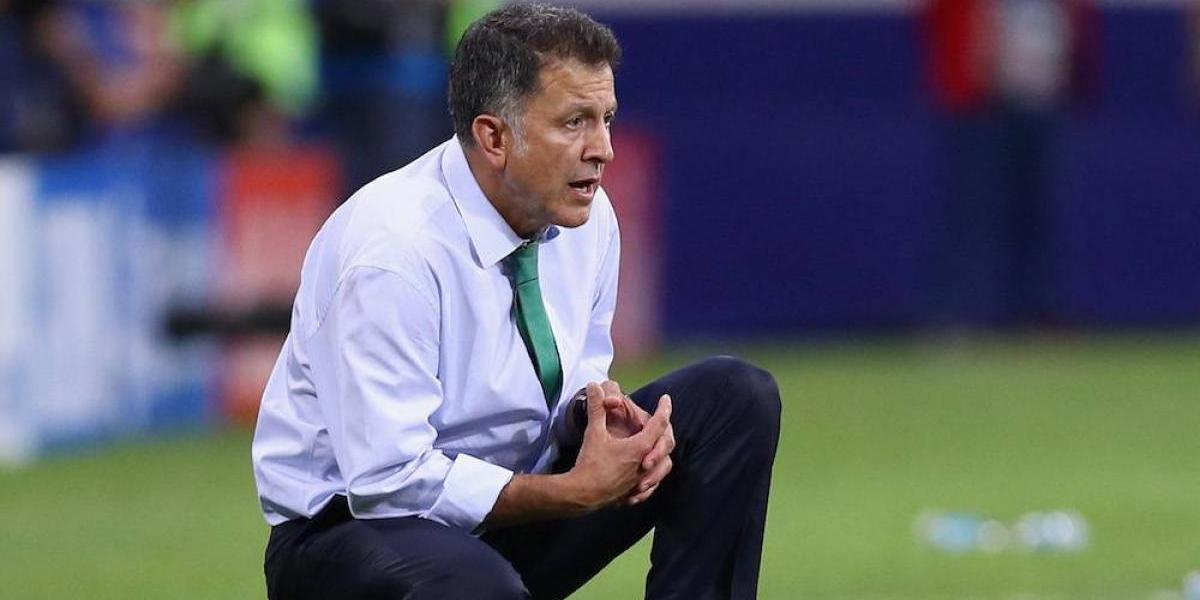 Osorio explicó ausencia de Carlos Vela en juego ante Alemania