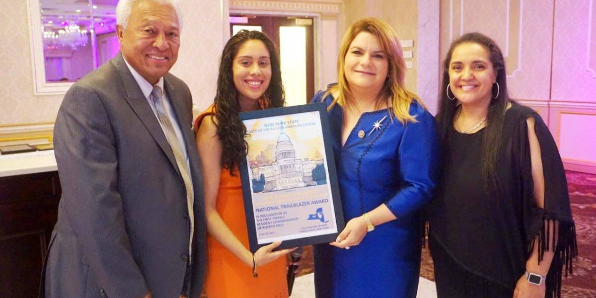 Reconocen a Jenniffer González como pionera de la comunidad hispana