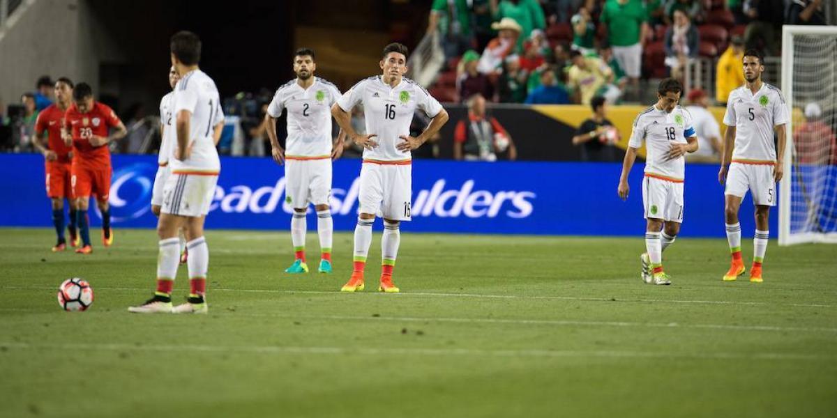 FOTOS: 6 dolorosas derrotas en la historia de la Selección Mexicana