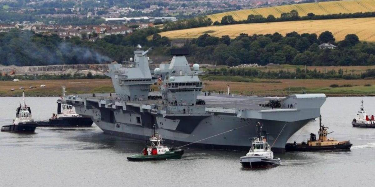 """¿Un nuevo integrante en el tablero? Reino Unido afirma que Rusia tendría """"envidia"""" de su mejor buque de guerra"""