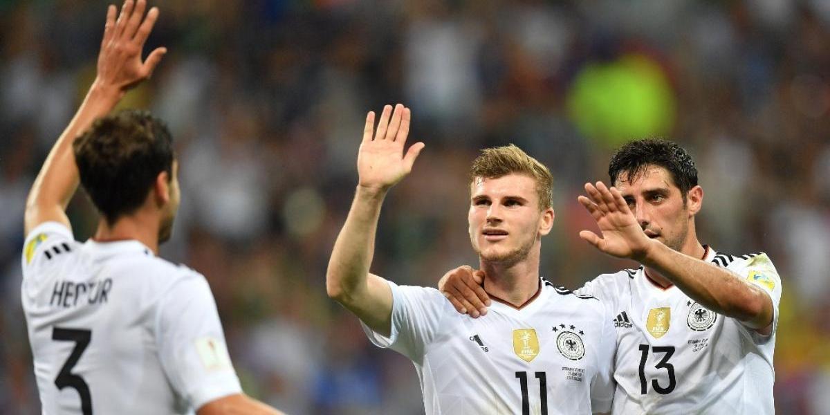 Alemania rompe la ilusión de México y peleará en la final ante Chile