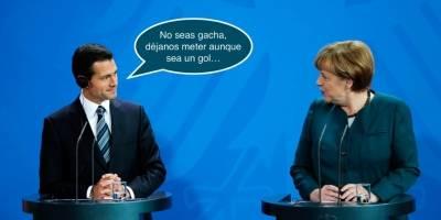 Memes Alemania vs. México