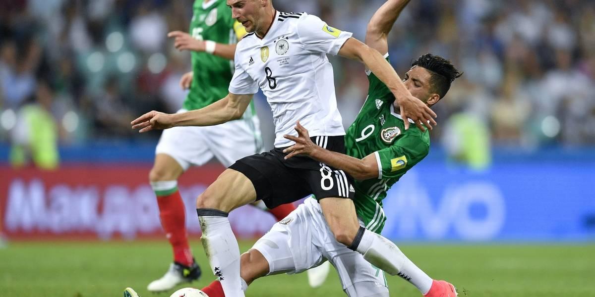 Alemania domina a México y pasa a la final