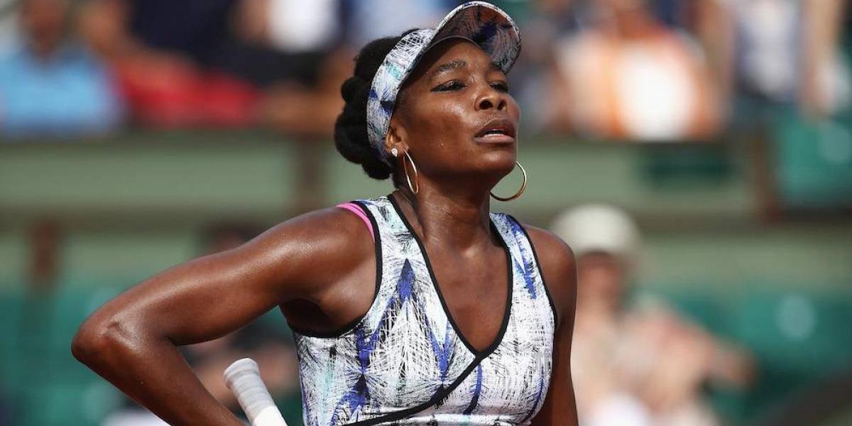 Venus Williams, involucrada en accidente de tránsito donde murió una persona