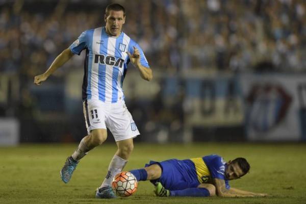 Luciano Aued llega a Católica tras ser titular en las campañas de Racing Club / AFP