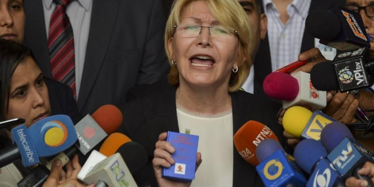 Fiscal venezolana pide a la CIDH medidas de protección para sus trabajadores