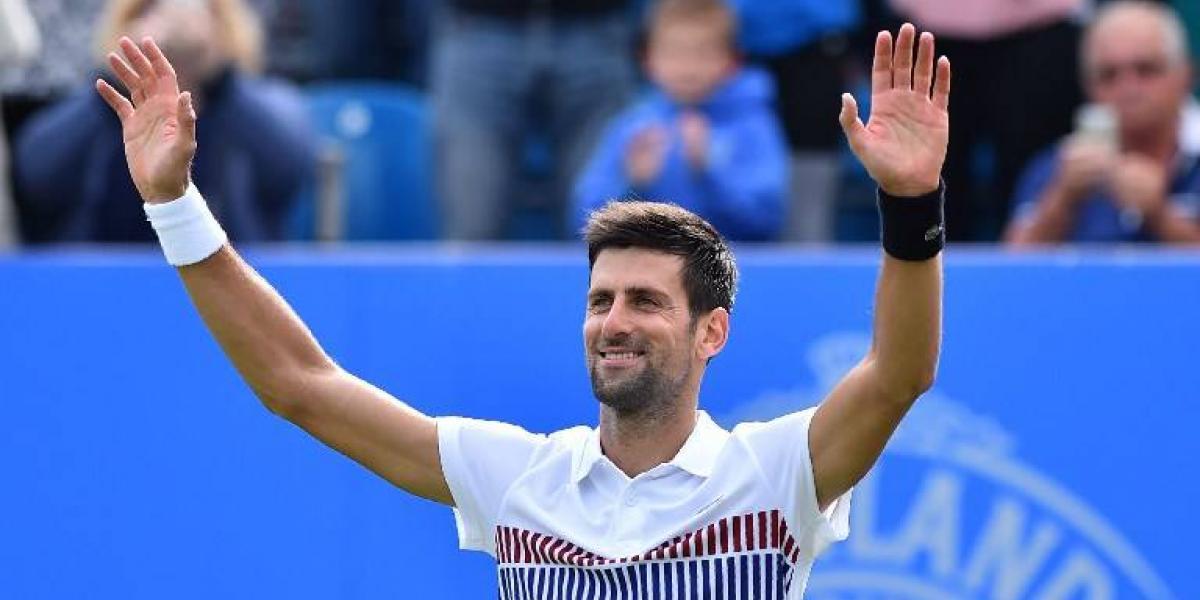 Djokovic irá por un nuevo título ante Monfils en Eastbourne