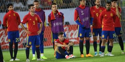 La tristeza española ante la alegría alemana.