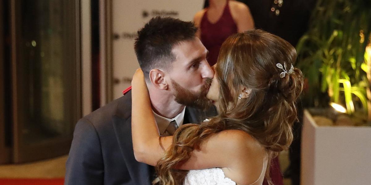 Messi publicó conmovedor video de su boda con Antonela