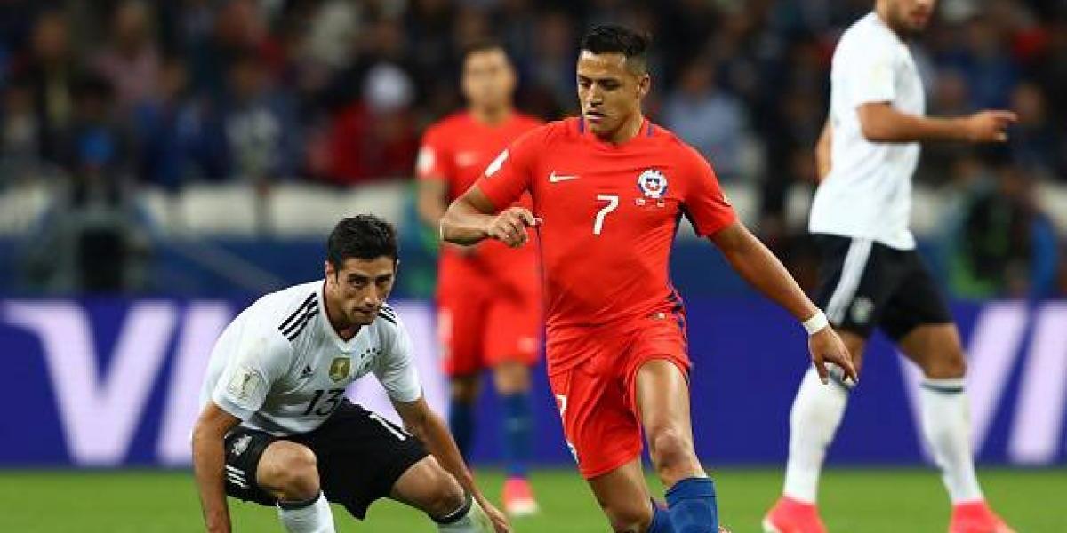 Medios alemanes le entregan todo el favoritismo a Chile para la final