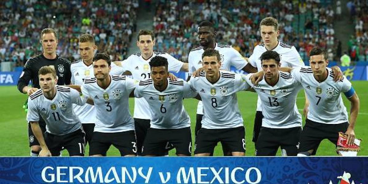 En Alemania se agrandaron: dan cuatro posibles equipos para jugar el Mundial de Rusia