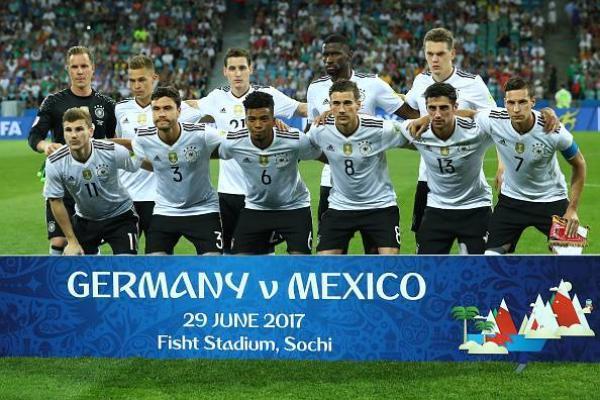 Selección alemana en Copa Confederaciones/ Getty Images