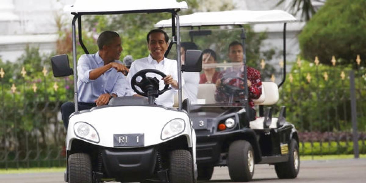 Obama se reúne con el presidente indonesio