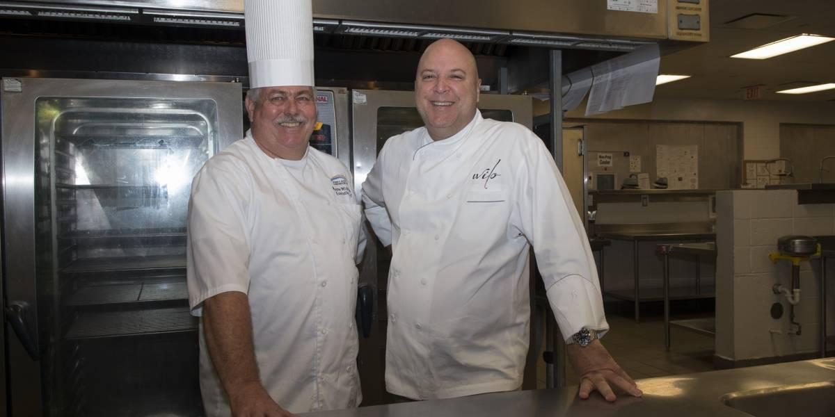 Destacado chef colabora con el Centro de Convenciones