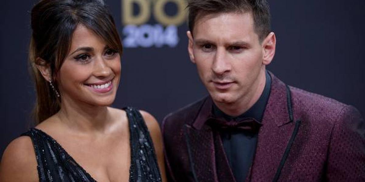 FOTO. El impresionante vestido de novia que usó Antonela Roccuzzo en su boda con Messi