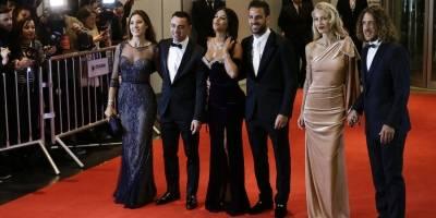 Carles Puyol,Vanessa Lorenzo,Cesc Fabregas,Daniella Semaan,Xavier Hernandez,Nuria Cunillera