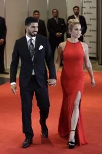 Luis Suarez,Sofia Balbi