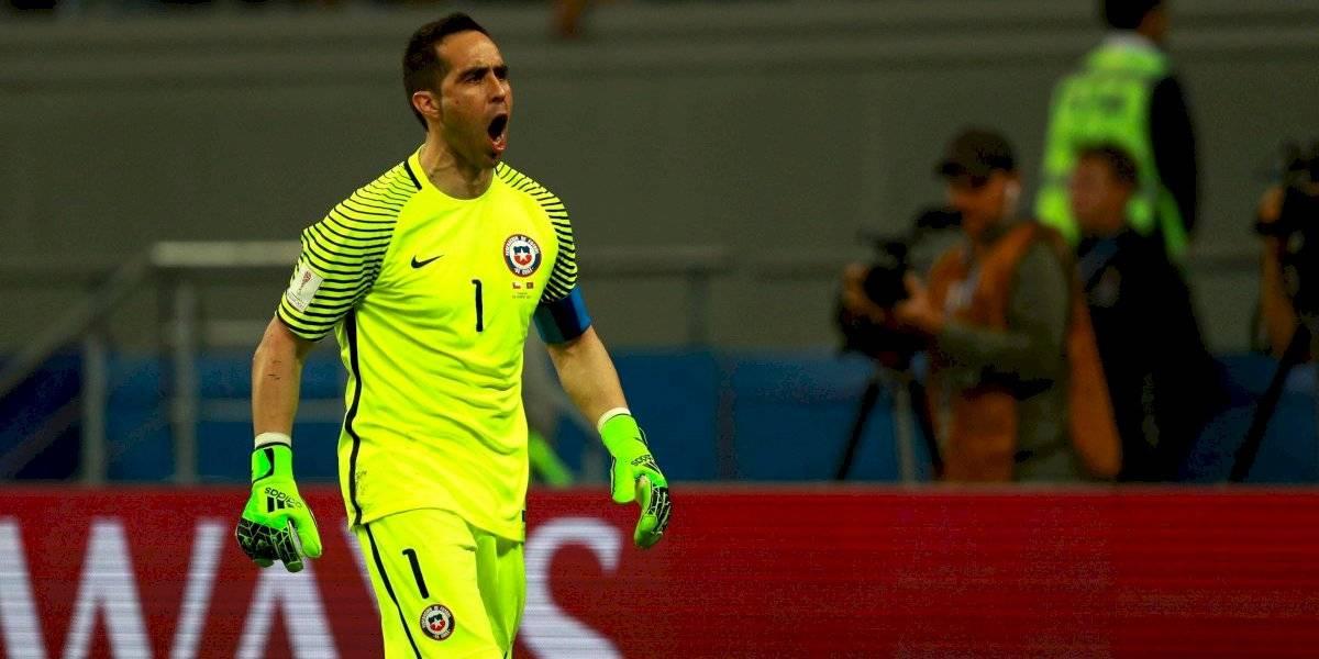 Claudio Bravo regresa a la Roja tras 21 meses y luego de no haber clasificado al Mundial de Rusia
