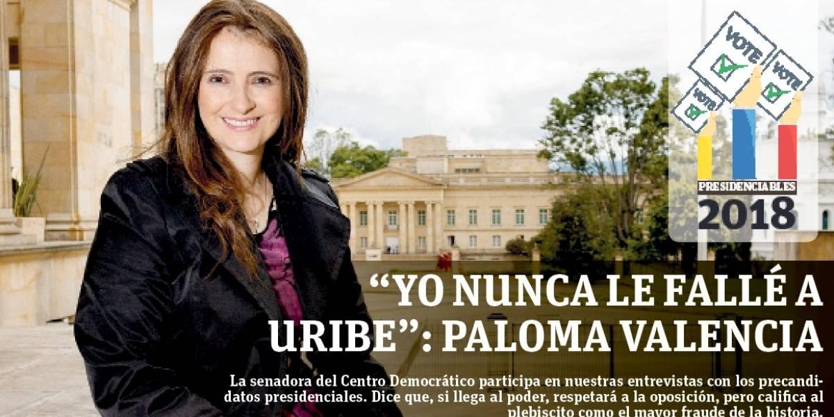"""""""No somos marionetas del presidente Uribe"""": Paloma Valencia"""