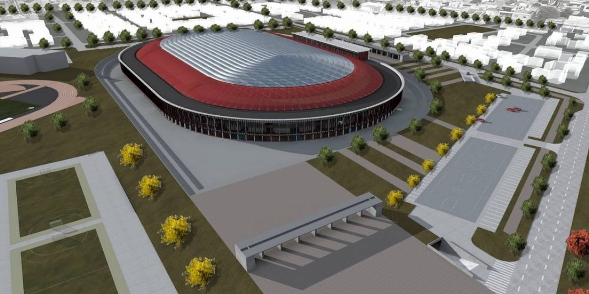 El moderno y lujoso estadio techado que tendrá Punta Arenas