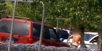 VIRAL: Embarazada arrolla a ladrón en estacionamiento de Walmart