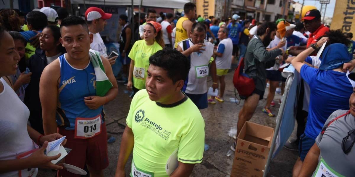 Carrera 10K por aniversario del Ministerio Público recorre la zona 1
