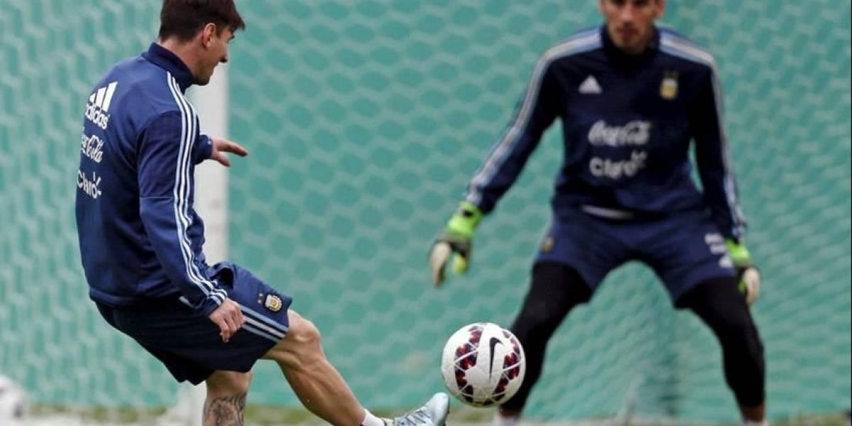 Nahuel Guzmán recibió permiso para acudir a la boda de Messi