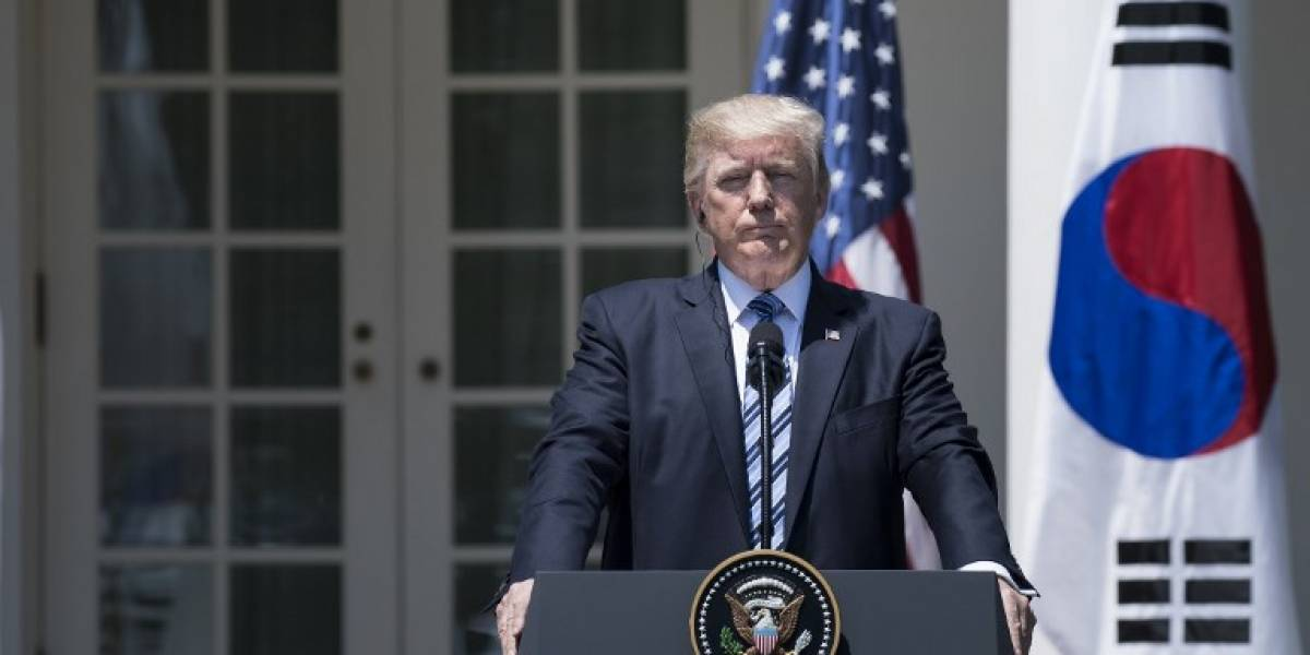 """La paciencia con Corea del Norte """"se acabó"""", sentencia Trump"""
