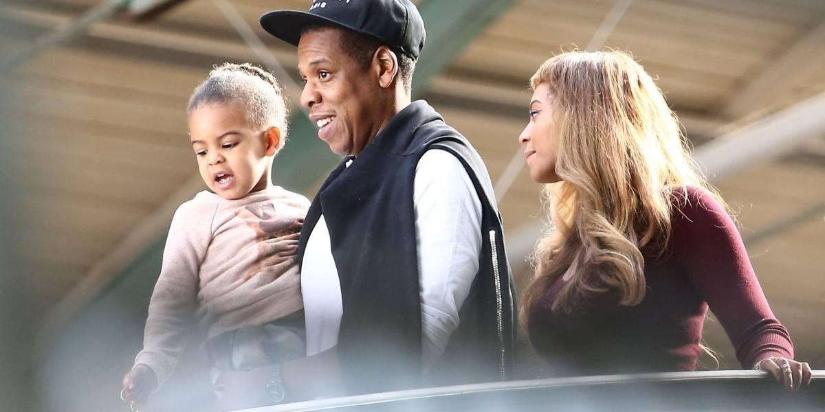 VIDEO. La hija de Beyoncé graba su primera canción de rap