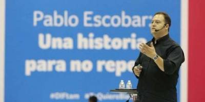 Hijo de Pablo Escobar presentará su libro en Guatemala
