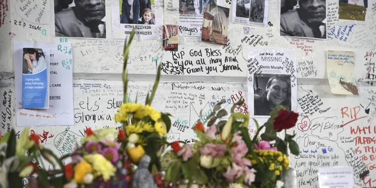 Detienen a un hombre que inventó haber perdido a su familia en el incendio de la Torre Grenfell en Londres