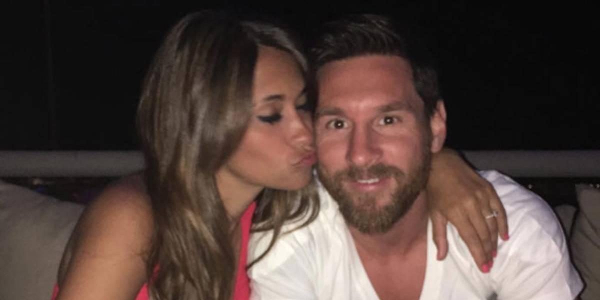La pareja Messi-Roccuzzo no hizo lista de regalos para su boda, solo pidió esto a sus invitados