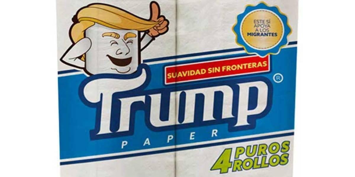 """Empresario mexicano lanzará a la venta el papel higiénico marca """"Trump"""""""