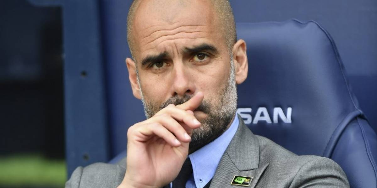"""Pep Guardiola fue víctima de los memes tras ser captado con un raro nuevo """"look"""""""