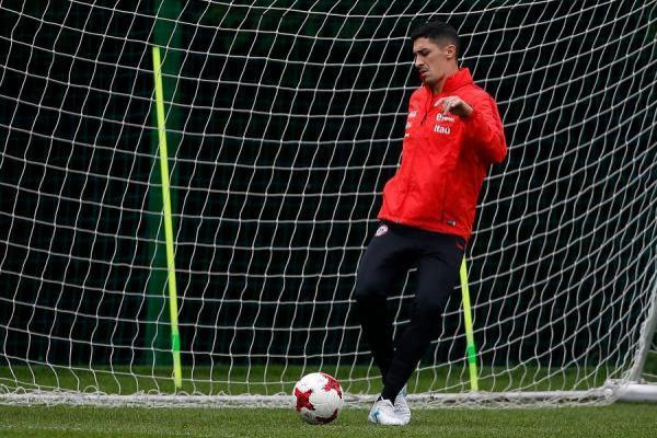 El Tucu Hernández se ha ganado la titularidad en la Roja durante la Confederaciones / Photosport