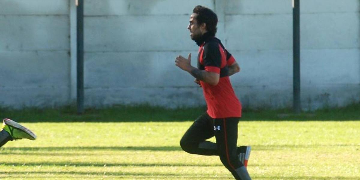 La magia está lista: Valdivia entrenó a la par y fue la piedra angular de la práctica de Colo Colo
